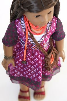 Killara | Liberty Jane Couture Doll Clothes and Sewing Patterns designed to fit American Girl Dolls