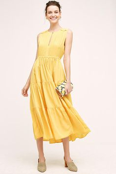 Sunny dress for any occasion.