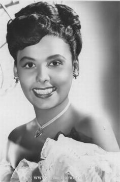 Lena Horne early years. One of the greats of the early years. Just watch her in one of those great films and you will become a fan.