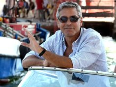 Kentucky: George Clooney  Even at age 50, Kentucky boy George Clooney still makes us melt. Born in Lexington, Clooney attended college in both Kentucky and Ohio, before moving to L.A. and landing his breakthrough role on ER. From there, the silver fox had his pick of prime roles, as well as beautiful women -- and we can see why!