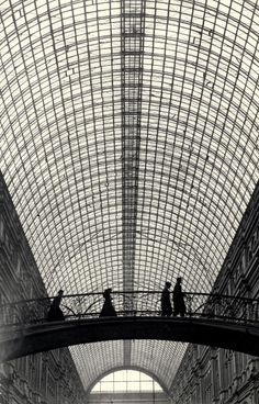 GUM - Main Department Store, Moscow, 1930.  by Simon Friedland