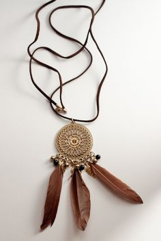 Gypsy Whispers Long Necklace S$11 from: O'ORO Accessories
