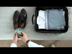 """I'm glad I'm not the only one who """"rolls"""" to fold, and also puts things into my shoes when I pack."""