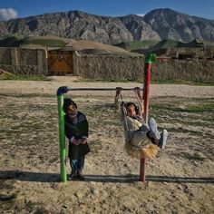 A report published by Unicef identifies #Afghanistan as the worst place to be born in the world says photojournalist Farshad Usyan (@farshadusyan) who took this picture on a playground on the outskirts of #MazarISharif. [The] main problems faced by children in Afghanistan [are] Poverty Health Education Child Labor Child SoldiersViolence and Exploitation Disability Orphaned Children Child Marriages Junevile Justice and Right to Identity he adds. He hopes he can be a voice for children and the…