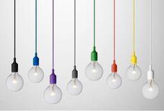 Lâmpadas à mostra - tendência no design de candeeiros
