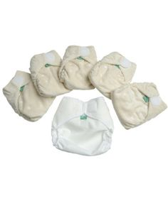 Tots Bots Bamboozle Stretch Reusable Nappies Mini Pack - Size 1