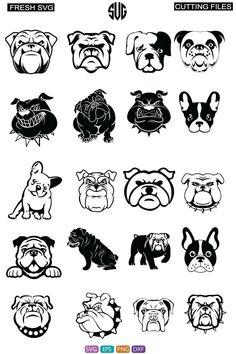 Bulldog Clipart, Amazon Beauty, File Format, Silhouette Design, Plexus Products, Cricut Design, Silhouettes, Etsy Seller, Creations