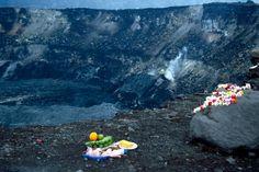 offerings to pele >Halema`uma`u Crater, Big Island