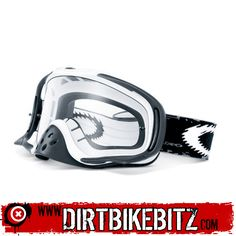 8d460246fa 2014 Oakley Crowbar Motocross Goggles - Matte White Speed - Dual Lens -  2014 Oakley Motocross