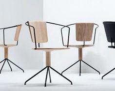 ronan + erwan bouroullec subtly carve uncino chair for mattiazzi