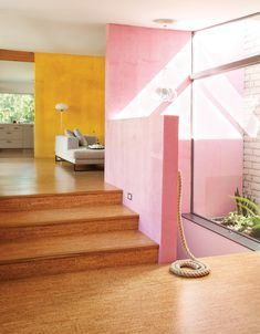 Love the combo of the mustard yellow and pink. How about lemon yellow with peachy pink?