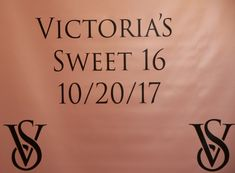 Victoria's Secret themed Sweet 16 photo backdrop. Sweet 16 Photos, Backdrops, Repeat, Victoria, Decor, Decoration, Backgrounds, Decorating, Sweet 16 Pictures
