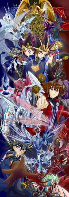 Yu Gi Oh! - Yu Gi Oh! GX - Yu Gi Oh! 5D The first one will forever be the best!!! YEAH!