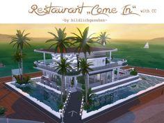 Come in restaurant by Bildlichgesehen at Akisima • Sims 4 Updates