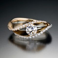 Covet Duo engagement ring by Adam Neeley
