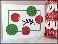 My Founder's Circle Swap - a  JOY Flash Card