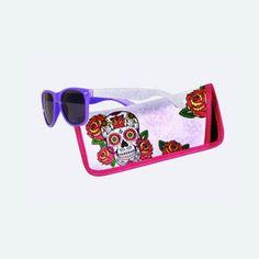 Sales Producers Inc. Sugar Skulls, Sunglasses Case, Day, Candy Skulls, Sugar Skull, Sugar Skull Face
