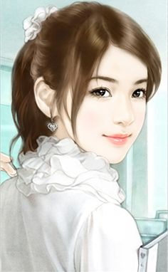 Asian Gilrs Beauty Asiatic Scene Japanese Korea Chinese Clothes Drawing Illustration