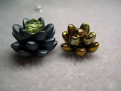These Tiny Flowers With Long Magatama 4x7 m/m Beads are so cute! It will help you get started