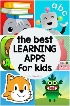 This a list of the best educational apps for kids! They were on a variety of skills from reading to math to logic and coding. They are all fun and engaging learning apps! app The Best Educational Apps for Kids Best Learning Apps, Educational Apps For Kids, Learning Websites, Kids Learning Activities, Educational Websites, Fun Learning, Teaching Kids, Learning Apps For Toddlers, Educational Crafts