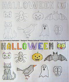 Disegni f&f plus size dresses - Plus Size Graph Paper Drawings, Graph Paper Art, Easy Drawings, Blackwork, Art Halloween, Halloween Decorations, Halloween Templates, Doodle Designs, Preschool Art