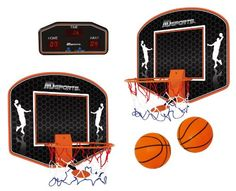 Automatic Return Indoor Basketball Net   This Could Be Fun For The Home OR  The Office!   Kids   Pinterest   Basketball Nets