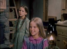 Laura and Mary Ingalls (Little House on the Prairie)