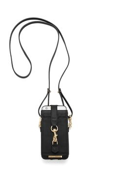 M.A.C. Phone Crossbody - Featuring a screen display pocket, two card slots and a snap closure, carry this soft leather case by hand or opt for the adjustable strap for hands free. Compatible with iPhone 6/6s.   Please note this item is on preorder and will be available to ship on or before October 1st, 2015