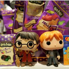 Harry Potter and Ron Weasly are excited to go on another field trip this weekend back to the Muggle candy shop, Lolli and Pops. They need to stock up on all their Harry Potter candy, and Harry wants to introduce Ron to so much more!!!
