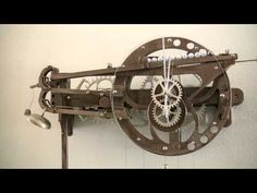Clayton Boyer's Marble Strike Clock - YouTube #rollingball #clock