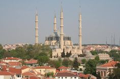 Selimiye Mosque and its Social Complex. In Edirne. Islamic Architecture, Historical Architecture, Ap Art History 250, Beautiful Mosques, Colonial America, Heritage Center, List, World Heritage Sites, Paris Skyline