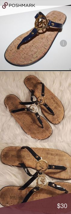 06752f9f9147 CUTE MICHAEL KORS JELLY STRAPS SANDALS These super cute sandals are in good  condition. They