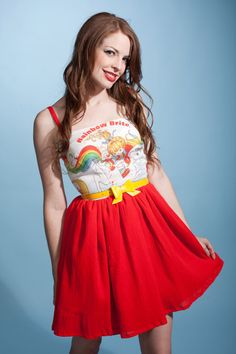 Rainbow Brite dress $90.00 via Etsy