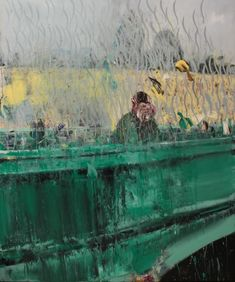 Adrian Ghenie The Bridge, 2015 oil on canvas x in 240 x 200 cm - Nicodim Gallery Museum Of Contemporary Art, Contemporary Paintings, Modern Art, Drip Painting, Figure Painting, Textured Painting, Adrian Ghenie, Degenerate Art, Portraits