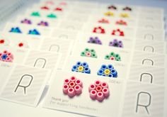 earrings look much better w/ a card backing.what a fun earring idea i will have to try soon!