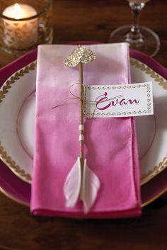 Cupid's Arrow Valentine Table Setting Tutorial