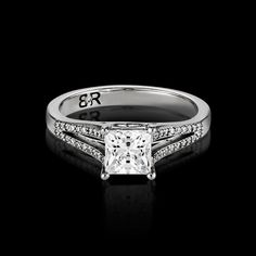 Commisceo is a very popular new style in the BigRocxs engagement ring collection. This style features a split diamond setting, coming together to showcase your rock. Diamond Settings, Wedding Bands, Engagement Rings, Popular, Rock, Collection, Jewelry, Style, Rings For Engagement