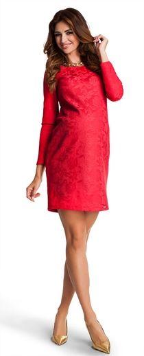 Valentine red нарядное платье из ткани имитирующей кружево