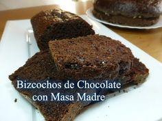 Bizcocho de chocolate con masa madre. Una delicia, sigue la receta en vídeo paso a paso y aprende a hacer este increible bizcocho!