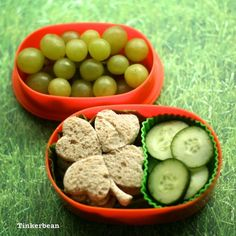 St Patrick's theme #bento #Lunch