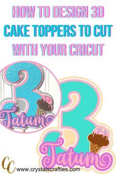 Cricut Tutorials, Cricut Ideas, Cute Crafts, Diy Crafts, Glitter Cups, Cake Pop, How To Make Cake, Cricut Design, Your Design