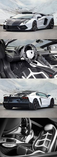 Lamborghini Aventador LP1600-4 Mansory Carbonado GT (would keep the hood black)