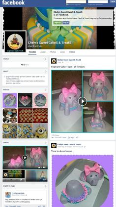 Chely's Sweet CakeS & TreatS page