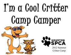 The Houston SPCA Summer Critter Camp is a wonderful opportunity for children to learn about the important role animals play in our lives, all while having fun!  Learn more at www.houstonspca.org