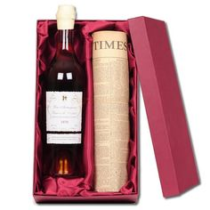 For the sophisticated individual, this 25 Year Old Vintage Armagnac and Original Newspaper gift will be very much to their taste.An ideal birthday present, we'll not only present them with this beautiful lined box of 25 year old vintage Armagnac, but will also include an original newspaper from the year of their birthday or any other date that you choose.You'll be provided with a certificate verifying that the newspaper you receive is in fact an original copy.This is certainly a very special…