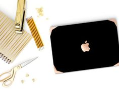 Black Marble Gold Accents Hybrid Hard Case for by Cliqueshops