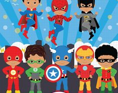 Supereroe afroamericano clipart, clipart di Super eroe, ragazzi supereroe, eroe clipart, supereroe Digital clipart, ragazzi clipart, supereroe