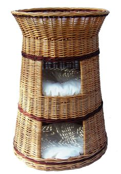 Superior Cat Willow House Basket