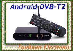 Купить товарНовый 2015 DVB T2 андроид TV BOX медиа плеер Amlogic TV Aml8726MX поддержка беспроводной умный IPTV DVB T2 ресивер в категории Телевизионные приставкина AliExpress.                                 DVB-T2 Android TV Box Media Player Amlogic AML8726MX HDMI WIFI С #tech #technology #atechpoint #tv #box #android