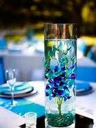 Blue Dendrobium Orchids Centerpieces